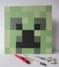 19012 Creeper --MineCraft--